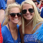 Were smiling in Lawrence thanks to a @KU_Football halftime lead! #kufball #rockchalk http://t.co/aRHG4AKRpS