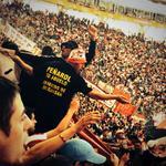 Muchos uruguayos en el estadio... Gracias x el aguante de siempre. #Peñarol http://t.co/0CEHIMyERV