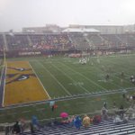 Damn it RT @DavidJNeal: And the lightning horn...#FIU #UofL http://t.co/gn5R5CnY8L