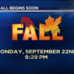 Although it feels NOTHING like Fall across DFW now, the new fall season officially begins Monday at 9:29PM. RS #Fall http://t.co/6A1p4kS9qy