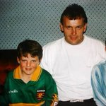 RT @berniequinn: Two captains, 20 years apart :) #Donegal #believe #GAA http://t.co/o0UUOVnVBM