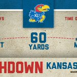 RT @KU_Football: TOUCHDOWN KANSAS! Caps a 72-yard drive and puts #kufball ahead 17-10. #rockchalk http://t.co/RSpA8K0f1j