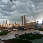 RT @jared_law: Parkview Field looking like Armageddon http://t.co/tYvc0SmIlT