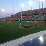 First @Ticats game of the season for us. What a beautiful night in #hamont ! http://t.co/eBDd5EaW9k