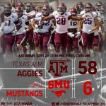 RT @AggieFootball: Texas A&M wins in Dallas! #ShareTheWin #12thMan #TAMUvsSMU http://t.co/9WYFHKftWO