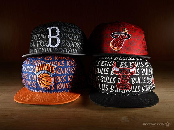 New all over print @NewEraCap #NBA snapbacks. Available in stores. http://t.co/jDTo2Eax9q