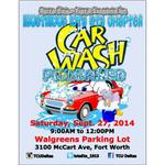 The TCU Deltas will be having a car wash! Come Owt on September 27 and let us bust some suds on your car. http://t.co/YpibFvOyOW