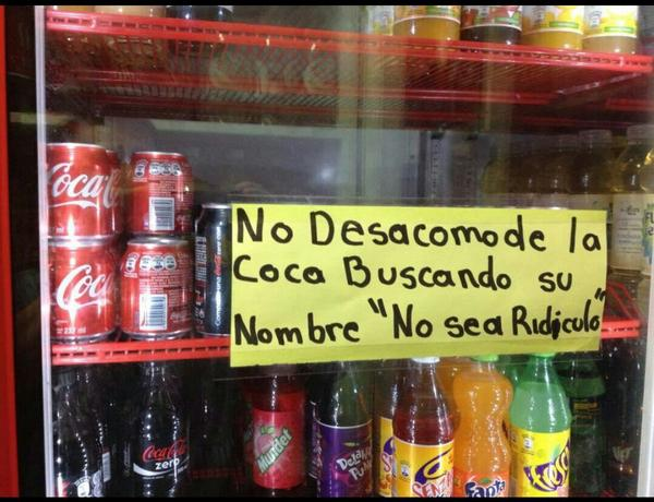 """No sea ridículo"" http://t.co/GCqCUocIj1"