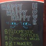 Come down and celebrate a Jayhawk VICTORY with happy hour specials till 9:00pm http://t.co/7aBe9pKlvb