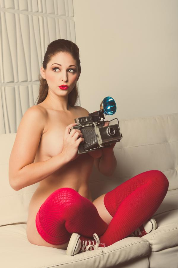 #sexysaturday Pic by Chad Alan #pinup #hot #carlottachampagne
