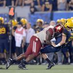 RT @OU_Football: FULL COVERAGE: Rough Riders Trample Mountaineers // http://t.co/ifkwskGZNz // http://t.co/3jsbn31Hsk