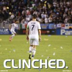 RT @LAGalaxy: The #LAGalaxy are into the playoffs. http://t.co/yrKWmcnPk7 http://t.co/aFcxDGlDat