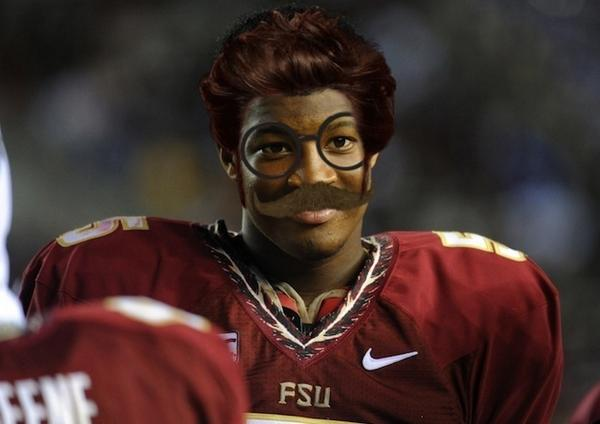 """Yes, Jameis, we know it's still you. And no, you still can't play tonight."" - Jimbo Fisher http://t.co/L0mZ4tQvAA"