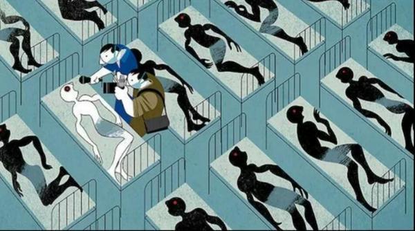 EBOLA A epidemia e o racismo velado da geopolítica em uma imagem... http://t.co/TOlrQzlZqC