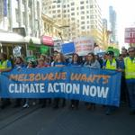 #melbourne #peoplesclimate on the march #nofibs http://t.co/w93xH35QDD
