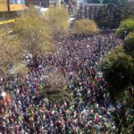 Melbourne, you look absolutely incredible today #PeoplesClimate http://t.co/Kut7JQFo8u