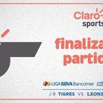 Finaliza el encuentro con triunfo de los locales. Tigres 1-0 @LeonesNegrosCF #AmorEsLeones #ProhibidoRendirse http://t.co/51uRMIz508