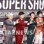 RT @kor_celebrities: Super Junior、韓国グループ初のワールドツアー100回の大記録樹立(21日、SUPER SHOW6記者会見) http://t.co/gGoRMjxZnt
