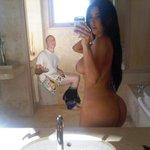 Delete this NOW RT @KimKardashian: Selfie ;) http://t.co/001eW8IddA