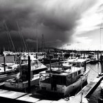 More stormy Auckland weather. Broody even. #auckland #spring #storm http://t.co/0m9STtznNa