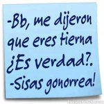 RT @LokaDaniela09: Sisas gonorrea http://t.co/y1tUeMV3Bm