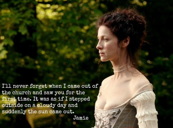 Here's another one of our many favorite moments from #OutlanderWedding. What is your favorite moment? #Outlander http://t.co/elCqXo0Rou