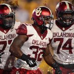 Boomer Sooner! No. 4 Oklahoma outlasts West Virginia, 45-33. FINAL STATS: http://t.co/bEp7y3D7eX http://t.co/QzhDqOPeoG