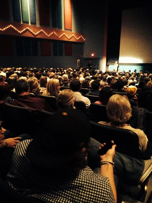 Love your butts in our seats! Full house at Maps to the Stars #CIFF2014 http://t.co/ycsYlHhvjp
