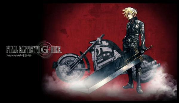 世界初公開! FF7Gバイクのために描き下ろした野村哲也氏のクラウド新デザイン! TGS初日に描きあがったくらいらしい。 http://t.co/SFnhM2P2q6