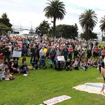 RT @Yes2Renewables: 1000 people at the #PeoplesClimate march in #Geelong. Take note #SpringSt: http://t.co/hvceJ9QVqZ