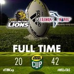 RT @ITMCup: ITM Cup Full Time: Wellington 20 Tasman 42 #ITMCup #WELvTAS http://t.co/dKapxIn7mJ