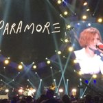 RT @MGMGrand: Its @paramore on stage now! @iHeartRadio #LIVEatMGM #iHeartRadio http://t.co/P99xKJfzTN