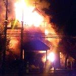 RT @Clave9cl: Incendio destruyó por completo parroquia Sto Tomás en San Federico/O´Higgins de Temuco. Bomberos continúa operando http://t.co/UImqXgbH89
