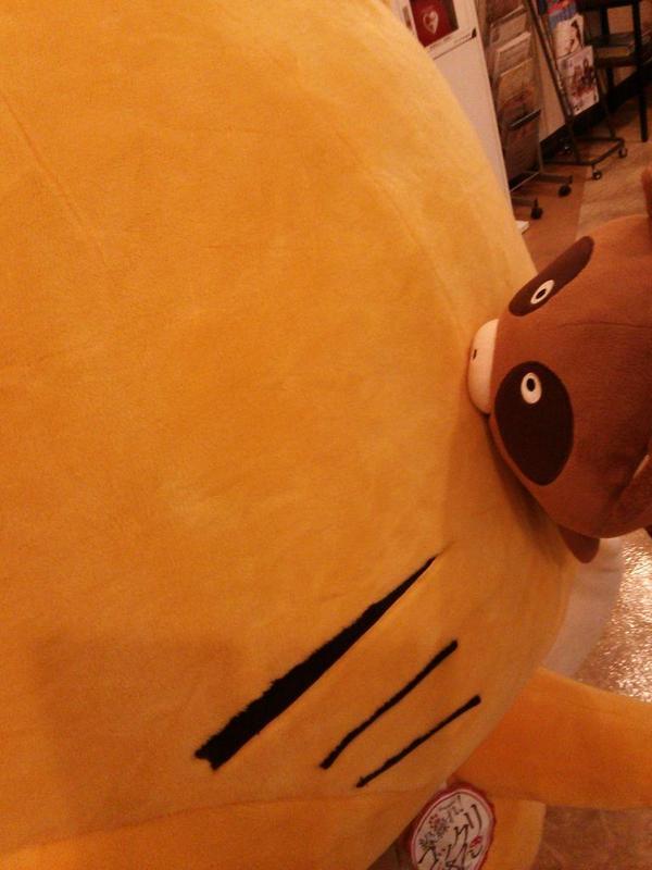 たぬたぬもふもふはじまりましたー RT : 開場を待つコックリさん&たぬき #gugukoku