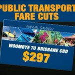 Commuters travelling between the Sunshine Coast and Brisbane CBD will save nearly $297 per year. #9News http://t.co/OZEw2HlZ3A