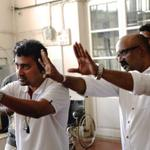 RT @dop007: With @dophari at action during #aathangara # YAAN http://t.co/S7mDhzyW2y