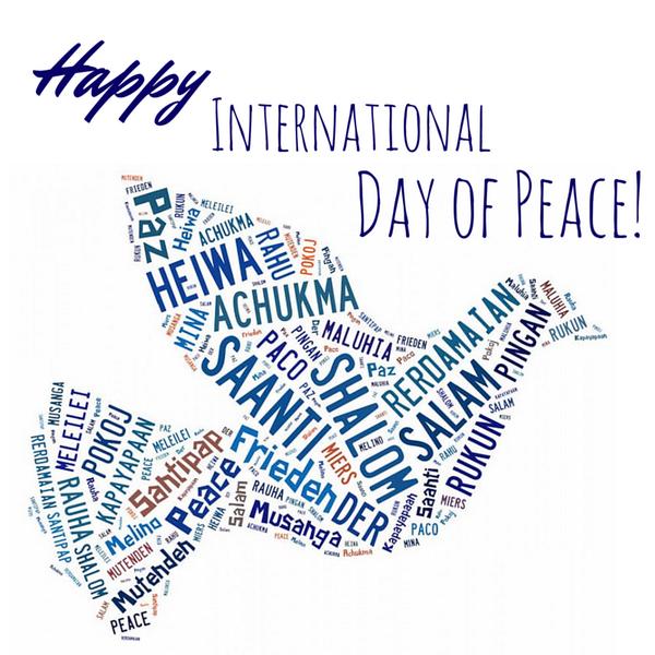 Happy International Day of Peace! #peace http://t.co/ctRGuXgtek