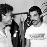 RT #MichaelJackson & #FreddieMercury Made This AH-Mazing Duet That Is Unforgettable!  http://t.co/5eiICR1ind http://t.co/VfVEblbY7w