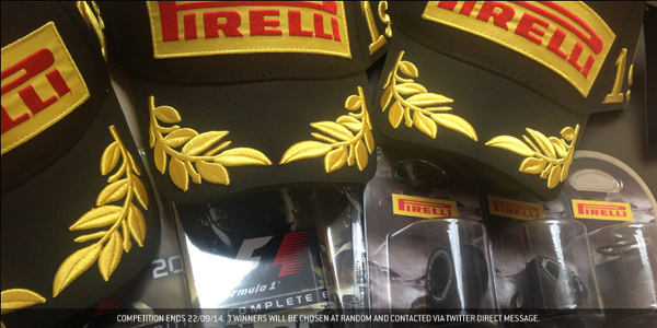 COMPETITION: RT for a chance to win a @PirelliSport prize bundle! #SingaporeGP #F1 http://t.co/OdvnJtODYE