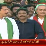 RT @FarhanKVirk: Imran Khan & Javed Miandad surprised us in 1992 WC & They are surprising us again in Khi today! Victory is near IA http://t.co/HOtGXIq0oC