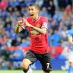 RT @ManUtd: PIC: Angel Di Maria celebrates his sumptuous goal at Leicester. Have you seen a better strike this season? #MUFClive http://t.co/gbgi57RT6M