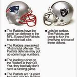 RT @MassholeSports: Here are the Patriots Raiders Keys To The Game #NEvsOAK http://t.co/tjTsn9AEe4