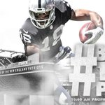 """@RAIDERS: GAME DAY! #BeatThePats http://t.co/KVk6xfNDhg"" Hahaha, Well dont the raiders wish. I see they have high goals."