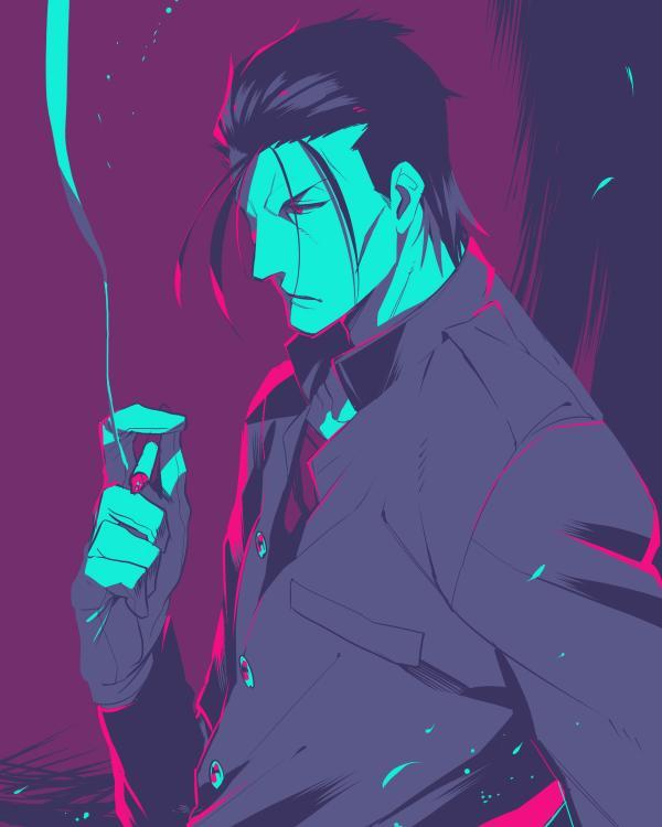 [版権] 姉に頼まれた10番の絵、どうせだので投げる 斎藤さん初描き http://t.co/tltMeTC4NN