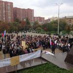 RT @Svetulya2907: Несмотря на путинские уродцев, радует большое количество новых лиц, которые вышли за мир! #МаршМира #Екатеринбург http://t.co/d10lj3sfd4