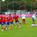 Nach #HSVFCB ist vor #FCBSCP - die Vorbereitung auf Paderborn hat begonnen. http://t.co/cP6bzwziEg