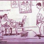 @mediacrooks Shivsenaa offer of seat adjustments - R K Laxman cartoon of yesteryears still valid today. http://t.co/DYxCJgXj0H