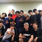 SUPER SHOW 6 SUPER JUNIOR WORLD TOUR ソウル公演3公演目❗️ そして通算100公演目❗️終了❗️ 記念すべき日にステージに呼ばれて光栄でした❗️ちぇご❗️ http://t.co/LFL6q7dQmx