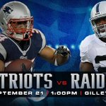 """@Patriots: Game Day! #OAKvsNE http://t.co/gEOemuFFIw"""