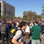 На Пушкинской площади Москвы собираются участники Марша Мира https://t.co/U1K6GEkx3B